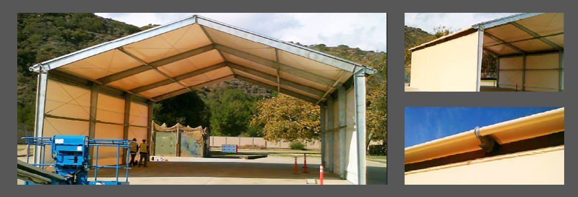 Large Area Maintenance Shelter : Our portfolio legacy building solutions canada
